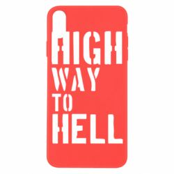 Чехол для iPhone X/Xs High way to hell