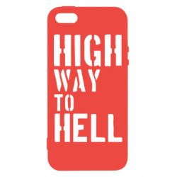 Чехол для iPhone5/5S/SE High way to hell