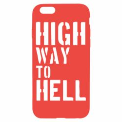 Чехол для iPhone 6/6S High way to hell