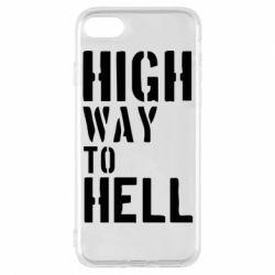 Чехол для iPhone 8 High way to hell