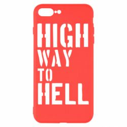 Чехол для iPhone 8 Plus High way to hell