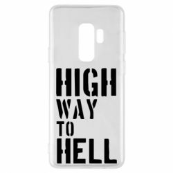 Чехол для Samsung S9+ High way to hell