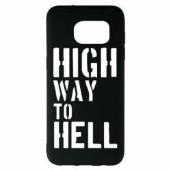 Чехол для Samsung S7 EDGE High way to hell