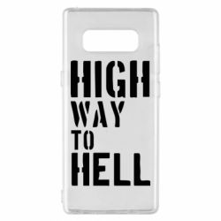 Чехол для Samsung Note 8 High way to hell