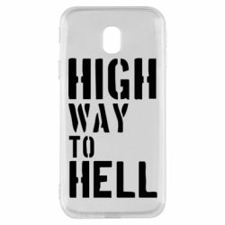 Чехол для Samsung J3 2017 High way to hell