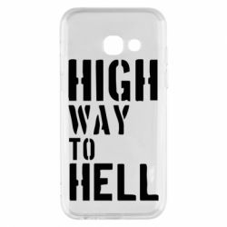 Чехол для Samsung A3 2017 High way to hell