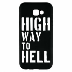 Чехол для Samsung A7 2017 High way to hell