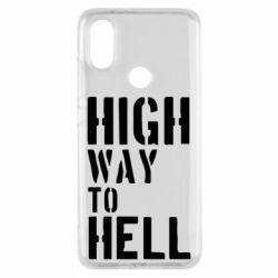 Чехол для Xiaomi Mi A2 High way to hell