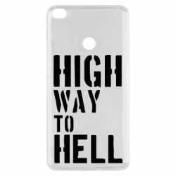 Чехол для Xiaomi Mi Max 2 High way to hell