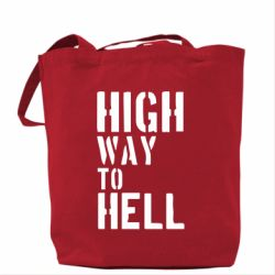 Сумка High way to hell