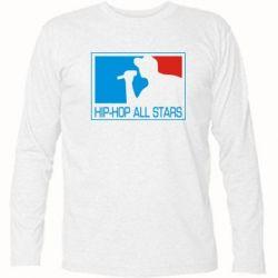 Футболка с длинным рукавом Hip-hop all stars - FatLine