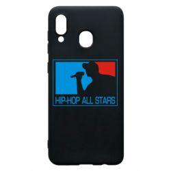 Чохол для Samsung A20 Hip-hop all stars