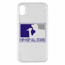 Чохол для iPhone X/Xs Hip-hop all stars