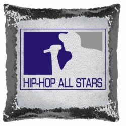 Подушка-хамелеон Hip-hop all stars