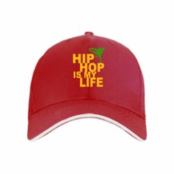 кепка Hip-hop is my life