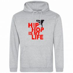 Толстовка Hip-hop is my life - FatLine