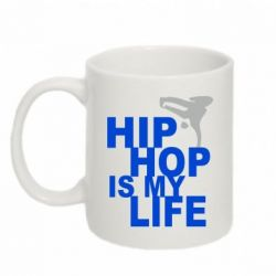 Кружка 320ml Hip-hop is my life