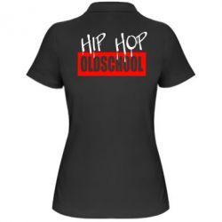 Жіноча футболка поло Hip Hop oldschool