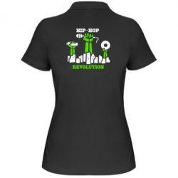 Женская футболка поло Hip-hop revolution