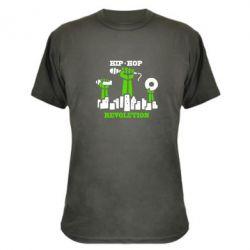 Камуфляжная футболка Hip-hop revolution - FatLine