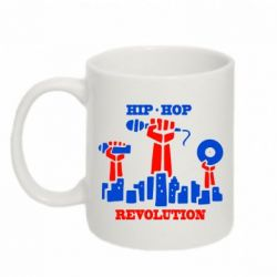 Кружка 320ml Hip-hop revolution