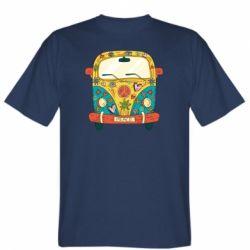 Чоловіча футболка Hippie bus