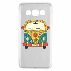 Чохол для Samsung A3 2015 Hippie bus