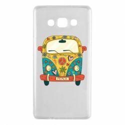 Чохол для Samsung A7 2015 Hippie bus