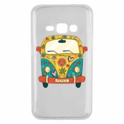 Чохол для Samsung J1 2016 Hippie bus