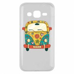 Чохол для Samsung J2 2015 Hippie bus