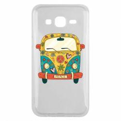 Чохол для Samsung J5 2015 Hippie bus