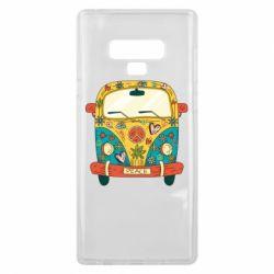 Чохол для Samsung Note 9 Hippie bus
