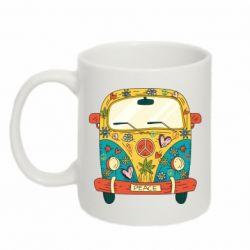 Кружка 320ml Hippie bus