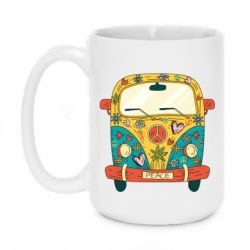 Кружка 420ml Hippie bus