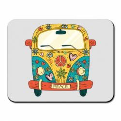 Килимок для миші Hippie bus