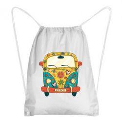 Рюкзак-мішок Hippie bus