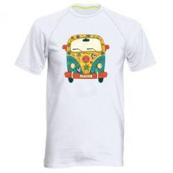 Чоловіча спортивна футболка Hippie bus
