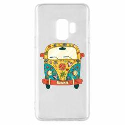 Чохол для Samsung S9 Hippie bus