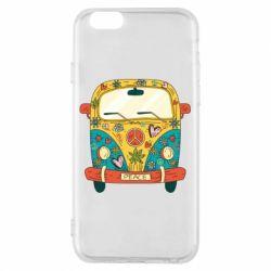 Чохол для iPhone 6/6S Hippie bus