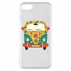Чохол для iPhone 7 Hippie bus