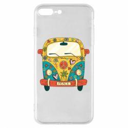 Чохол для iPhone 7 Plus Hippie bus