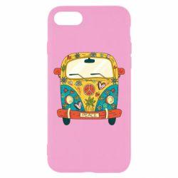 Чохол для iPhone 8 Hippie bus