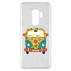 Чохол для Samsung S9+ Hippie bus