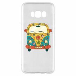 Чохол для Samsung S8 Hippie bus