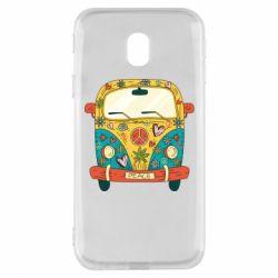 Чохол для Samsung J3 2017 Hippie bus