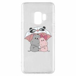 Чохол для Samsung S9 Hippos