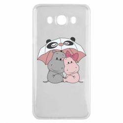 Чохол для Samsung J7 2016 Hippos