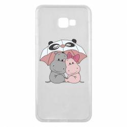 Чохол для Samsung J4 Plus 2018 Hippos