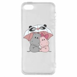 Чохол для iphone 5/5S/SE Hippos
