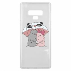 Чохол для Samsung Note 9 Hippos